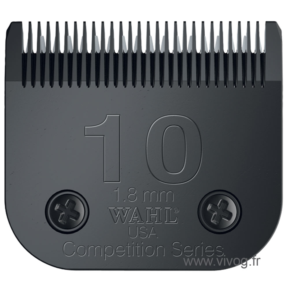 Clipper blade Clip system - Wahl Ultimate Competition - N°10 - 1.8mm