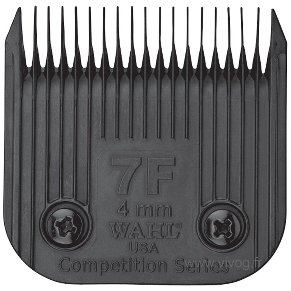 Tête de coupe Clip pour tondeuse chien - Wahl Ultimate compétition - N°7F - 3,8mm