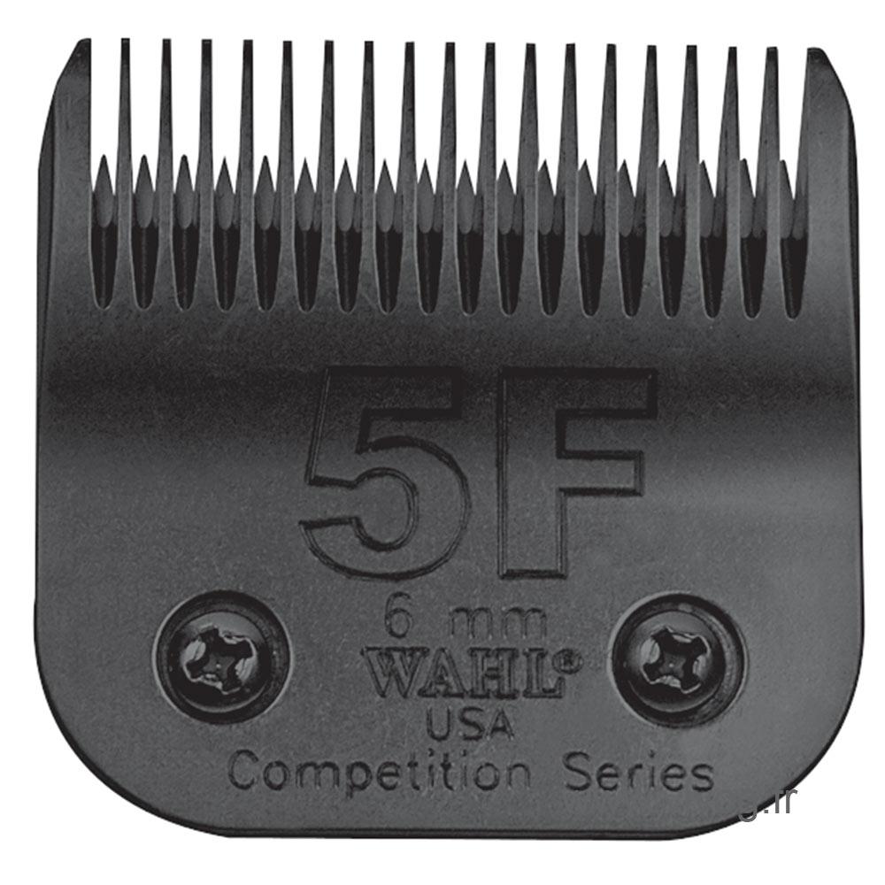 Tête de coupe Clip pour tondeuse chien - Wahl Ultimate compétition - N°5F - 6mm