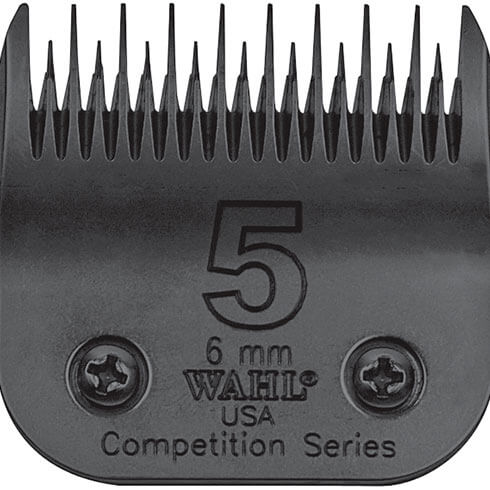 More informations about: Clipper blade Clip system - Wahl Ultimate Competition - N°5 - 6mm