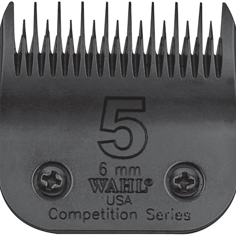 Tête de coupe Clip pour tondeuse chien - Wahl Ultimate compétition - N°5 - 6mm