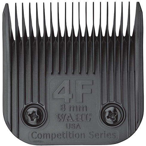 More informations about: Clipper blade Clip system - Wahl Ultimate Competition - N°4F - 8mm