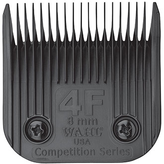 Clipper blade Clip system - Wahl Ultimate Competition - N°4F - 8mm