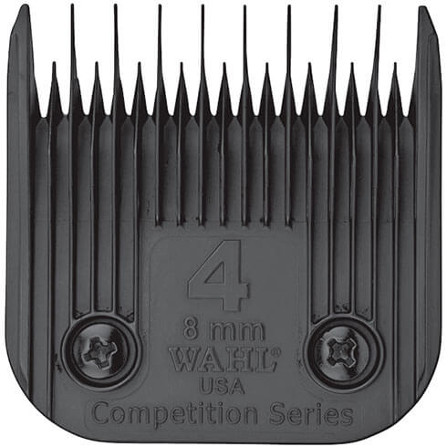 More informations about: Clipper blade Clip system - Wahl Ultimate Competition - N°4 - 8mm