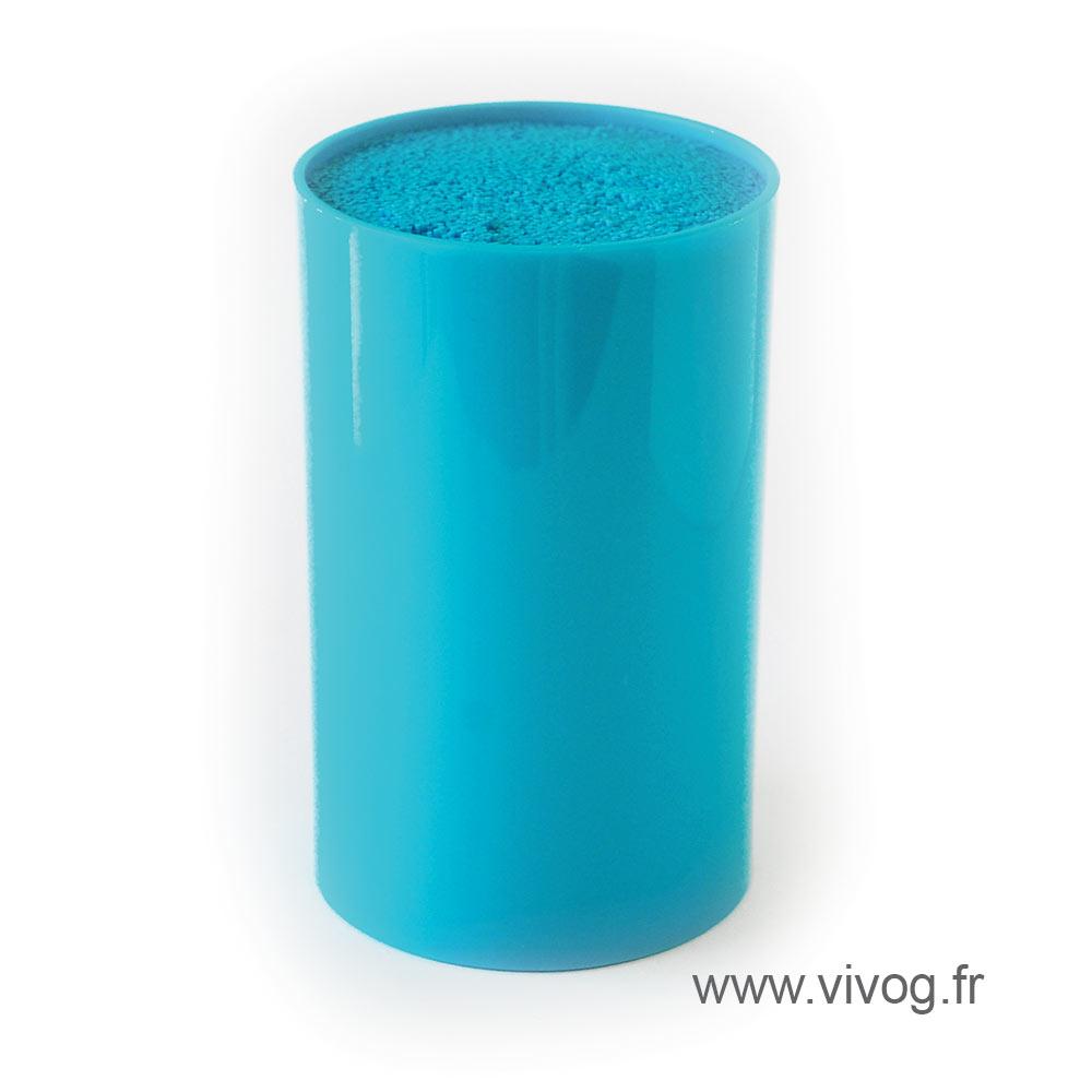 Range/Porte-ciseaux de table - Bleu
