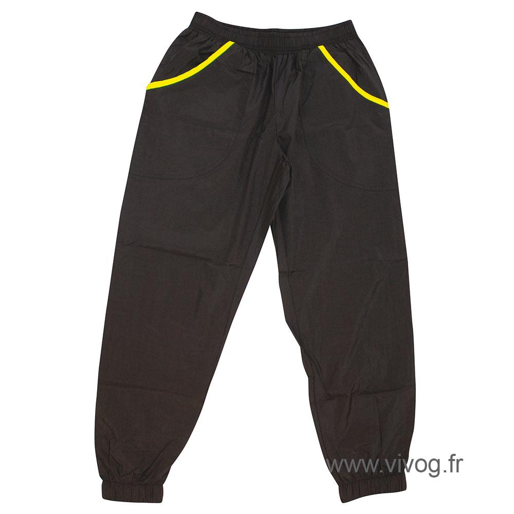 Pantalon de toilettage - Noir/jaune