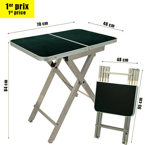 More informations about: Folding table TP700 easy storage