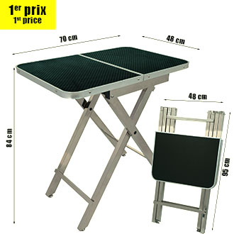 Folding table TP700 easy storage