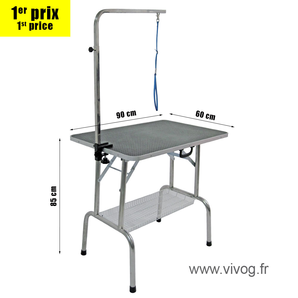 Folding table TP900 for medium dogs