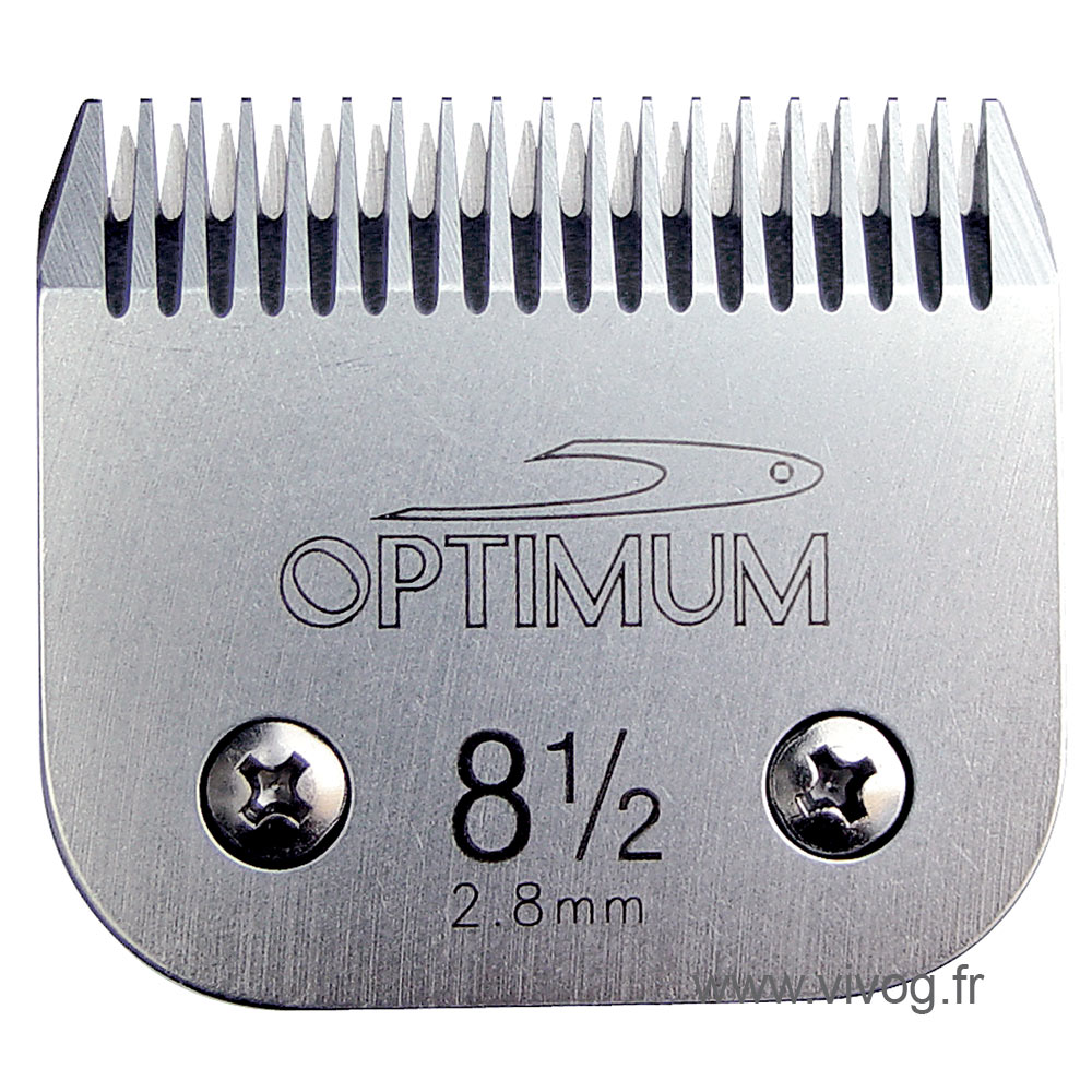 Universal Ceramic clipper blades (Clip system) -  n°8,5 - 2,8mm