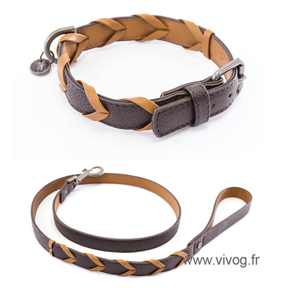 Dog collar - Explorer collection - Téo Jasmin