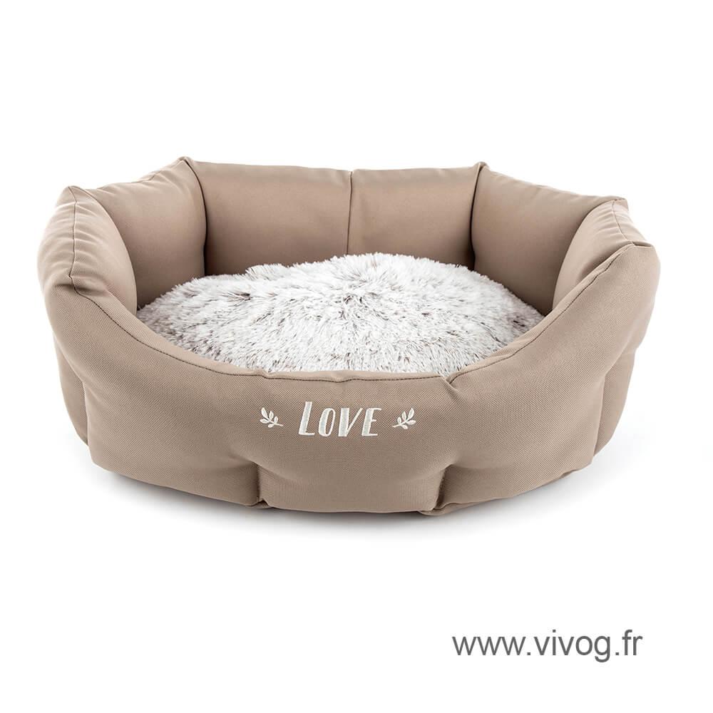 Comfort dog beige basket - Igloo - Martin Sellier