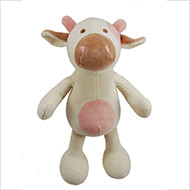 Organic plush toy for dogs - Cow 25cm - Simply Fido