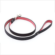 More informations about: Dog collar - Charleston collection - Téo Jasmin - Lead - size 100 x 1 cm