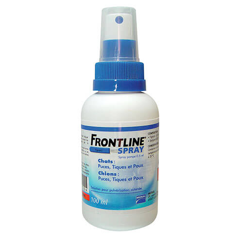 Frontline fleas, tiks and lice - 100ml
