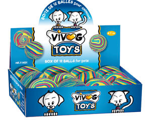 More informations about: Vivog toy box - 12 balls