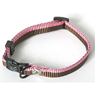 More informations about: Dog collar - Choco pink
