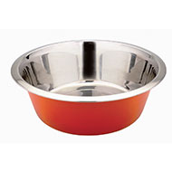 More informations about: Bowl stainless - Orange