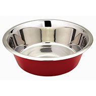 More informations about: Bowl stainless - Red