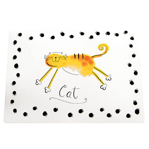 More informations about: Placemat opaque white CAT