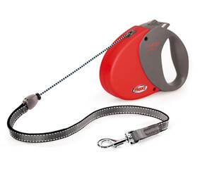 Lead FLEXI - red Comfort Long - Comfort Long 1 - 12kg