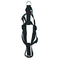 More informations about: Adjustable dog harness black nylon