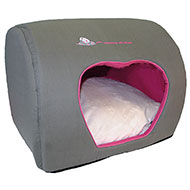 More informations about: Heart hut for cat - souris et moi