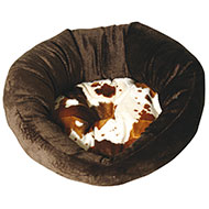 More informations about: Round dog basket - Cow