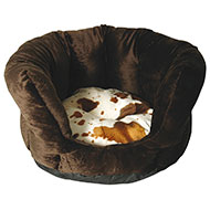 More informations about: High dog basket - Cow - 40cm
