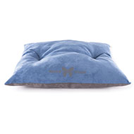 More informations about: Dog Cushion - Blue Suédine