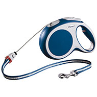 More informations about: Dog lead - Flexi vario blue cord