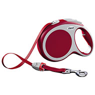 More informations about: Dog lead  - Flexi Vario red strap