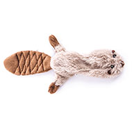 More informations about: Dog Toy - Plush crushed sound - Beaver