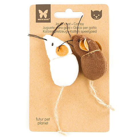 More informations about: Cat toy - 2 matching mouse