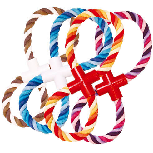 More informations about: Dog Toy - Set of 4 ropes super 8