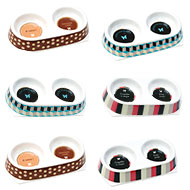 More informations about: Dog bowl - double melamine - Display of 6 boxes
