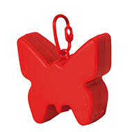 More informations about: Picks up dirt - bag dispenser - Red
