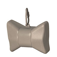 More informations about: Picks up dirt - bag dispenser - Bow grey