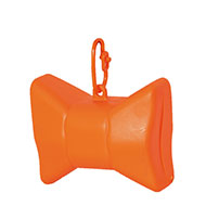 More informations about: Picks up dirt - bag dispenser - Bow orange