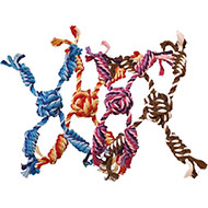 More informations about: Dog Toy - Set of 4 stars rope