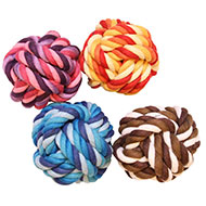 More informations about: Dog Toy - Set of 4 cotton balls