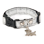 More informations about: Dog collar - White Disco