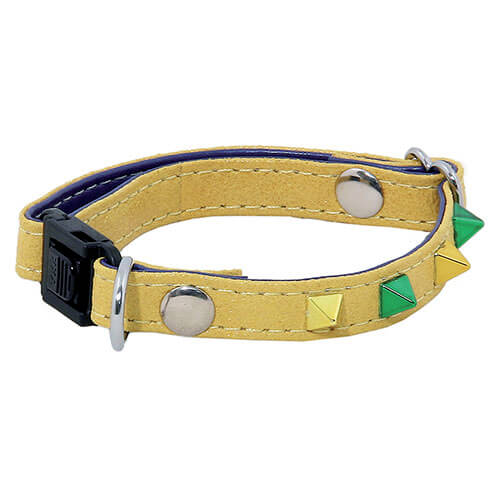 More informations about: Adjustable Cat Collar - Glam & Color - yellow