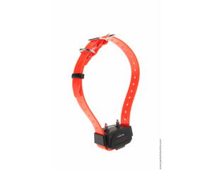 More informations about: Added collar for CANICOM 800, 1500 and 1500PRO - fluorescent orange strap