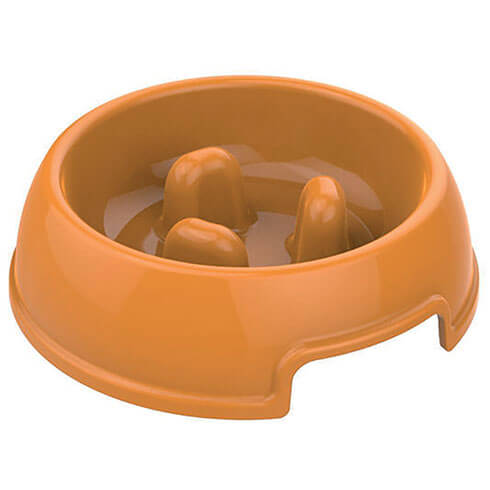 More informations about: Anti-bolting feed bowl, brown 845 ml