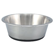 More informations about: Bowl - steel - anti-skid - 6 sizes