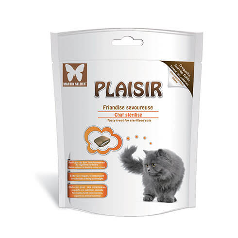 More informations about: Pleasure treats by Héry neutered cat 50g