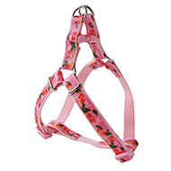 More informations about: Cherries nylon harness pink