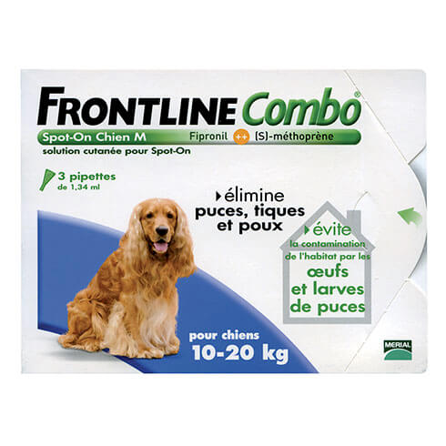 More informations about: Frontline Combo dog M