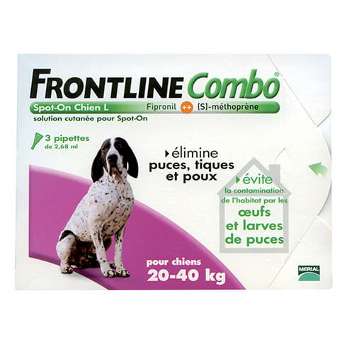 More informations about: Frontline Combo dog L
